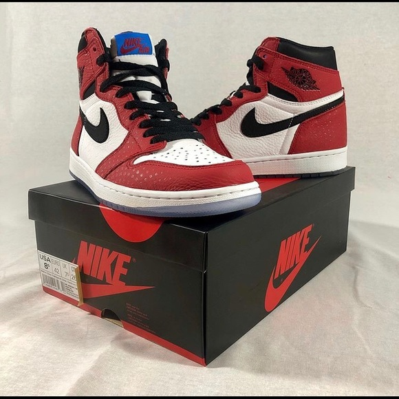 official photos 2a2fe c18c6 Jordan 1 Spider Verse OG
